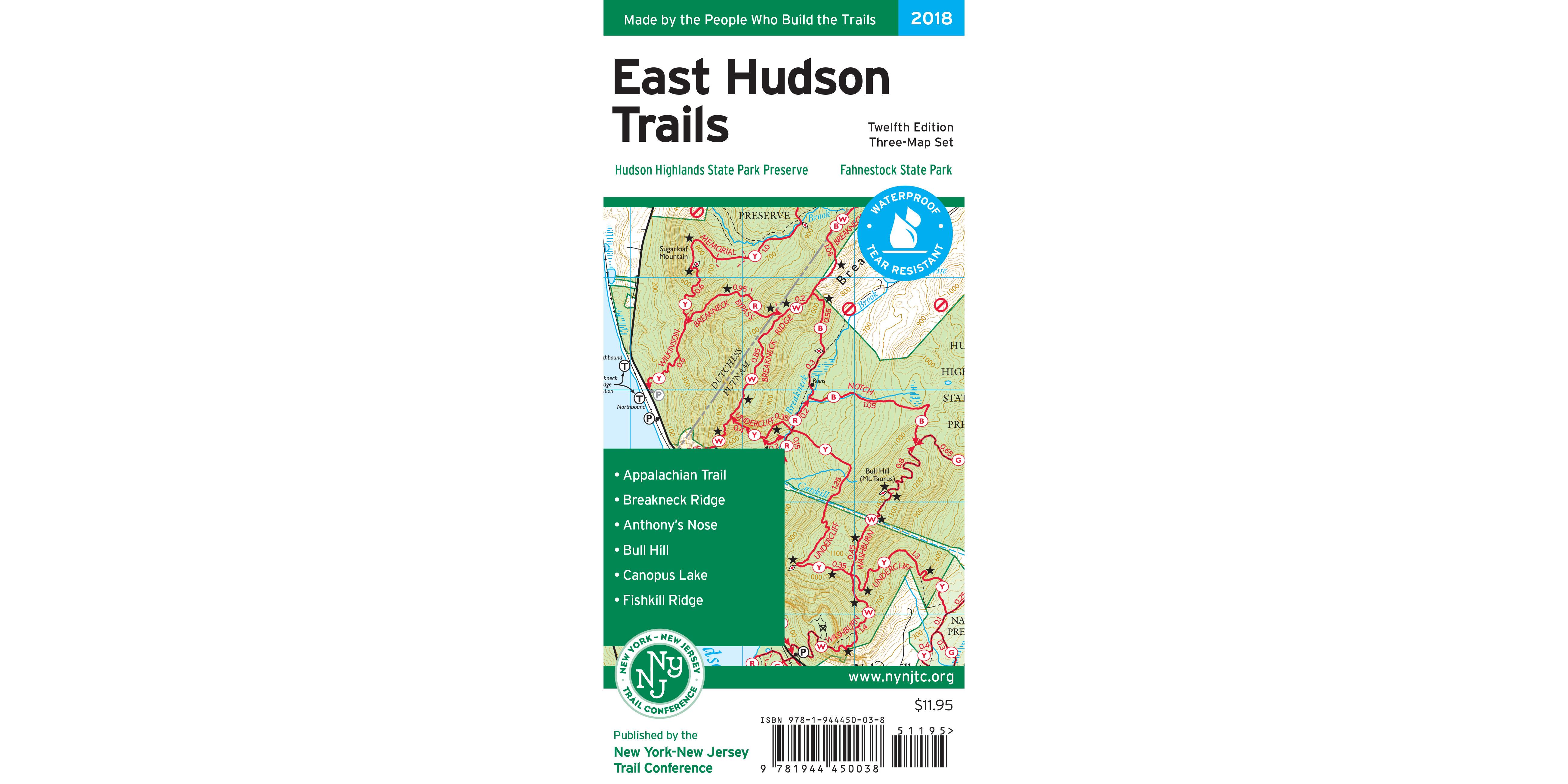 East Hudson Trails Map 2018