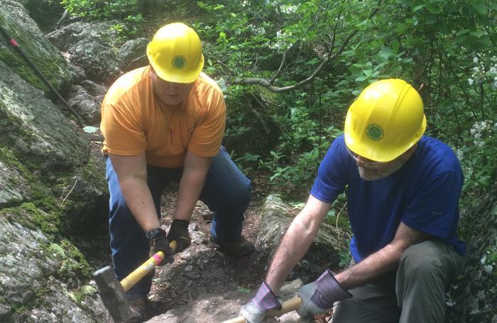 MEVO - 6 miles of hiking trail built