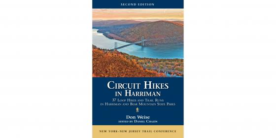 Circuit Hikes in Harriman 2nd Edition Cover