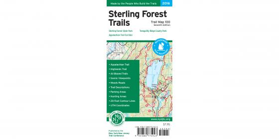 Sterling Forest Trails Map Cover