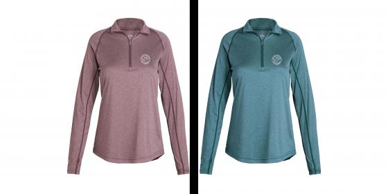 Women's Apex Baselayer Wicking Pullover Color Options