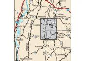 South Taconic Trails Map Locator Map