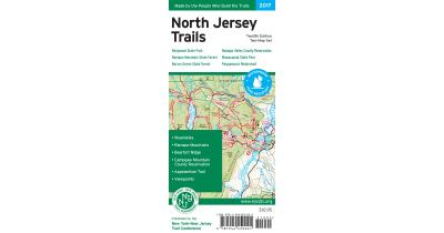 North Jersey Trails Map Cover