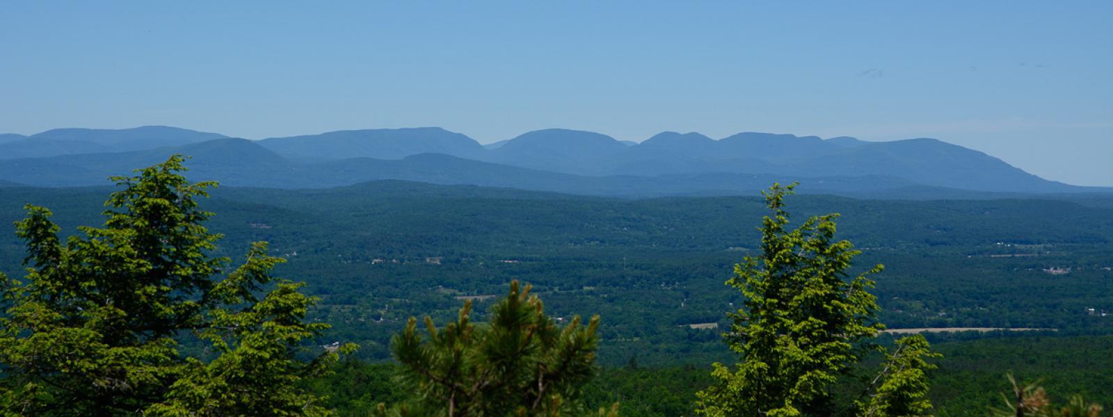 View of Catskills from Beacon Hill Minnewaska State Park - Bill Roehrig