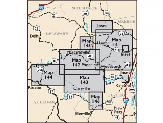 Catskill Map 2018 Locator Map
