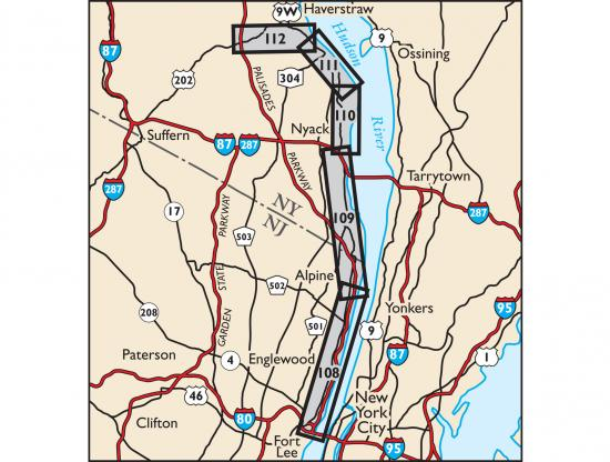 Hudson Palisades Map 2018 Locator Map