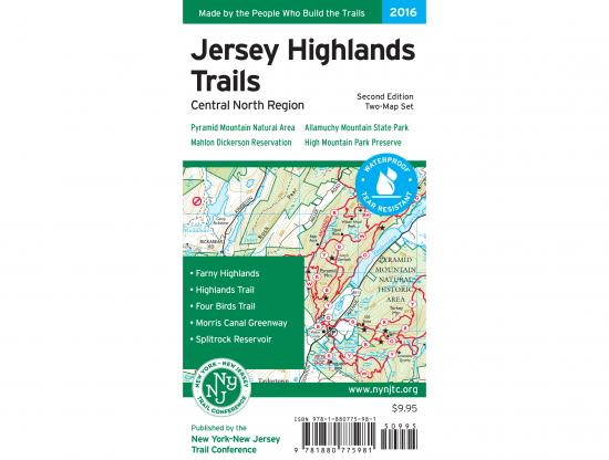 Jersey Highlands Trails Map Cover