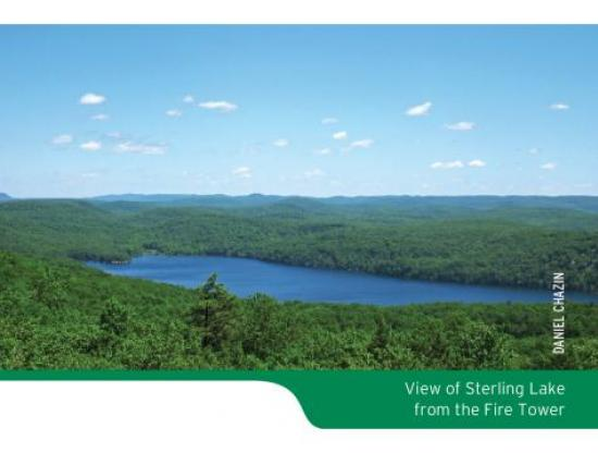 Sterling Forest Trails Map Scenic Photo